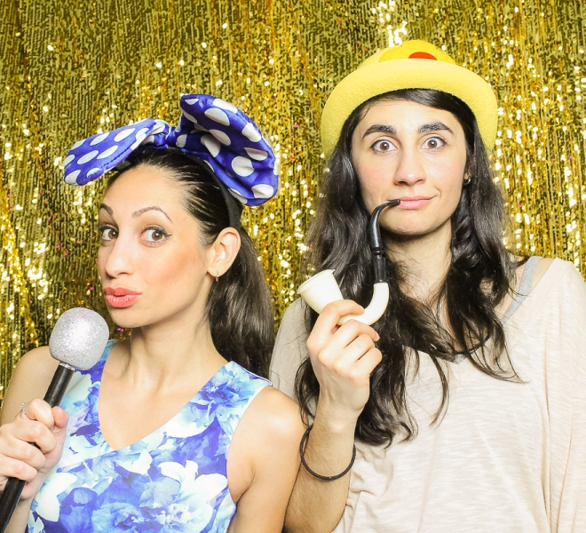 Photo Booth Newcastle Gold Sequin Backdrop